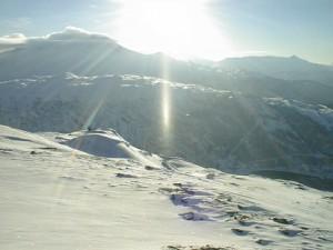 幻想的な冬景色