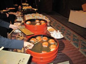 九兵衛のサーモン寿司