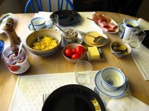 A4な朝食風景