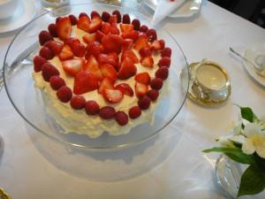 ノルウェーのバースデーケーキ